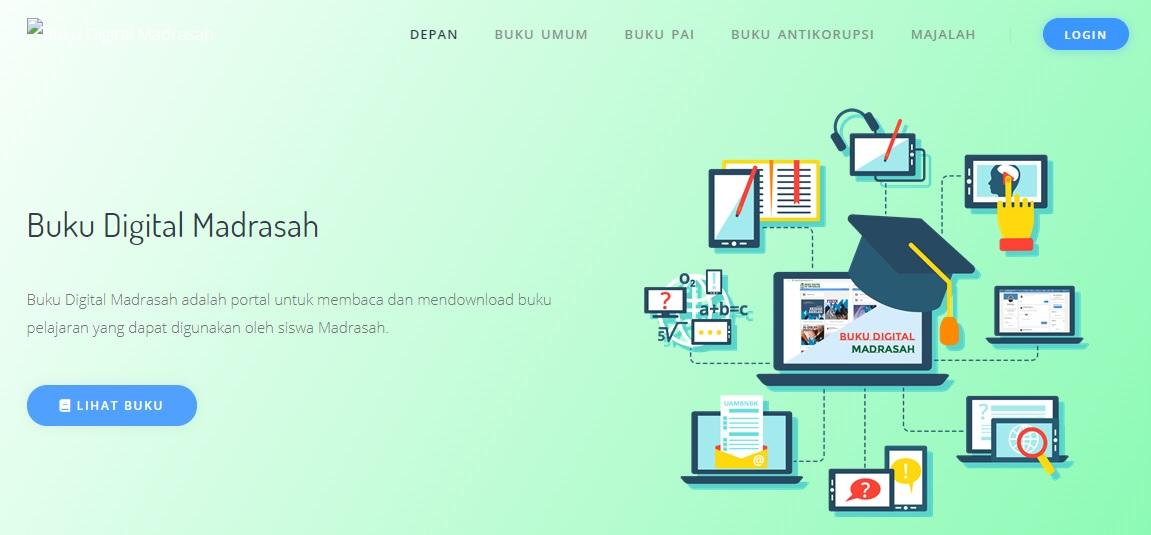 Buku Digital PAI dan Bahasa Arab  ( KMA 183 )